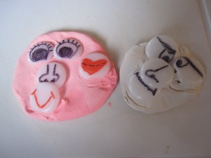 DIY Mr. Playdough Face
