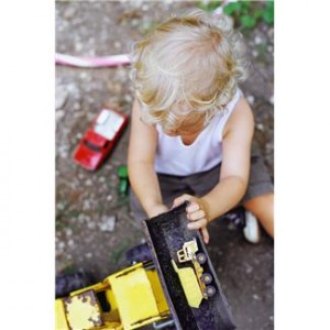 helping kids learn to play with cars and trucks