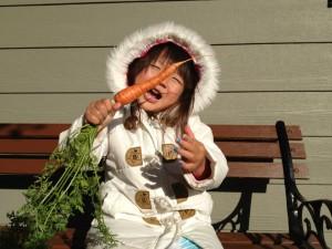 fall garden for kids