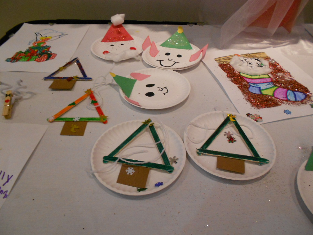 Kindergarten Readiness – Christmas Crafts for Fun & Learning