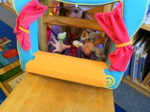 fun and learning with puppets