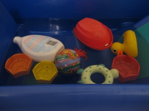 sensory water play activities