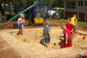 playground sensory activities