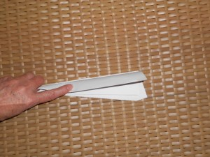 making paper airplanes step 6