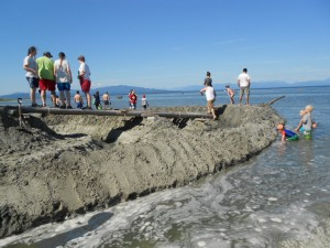 sand castles for fun and learing