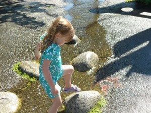 summer fun and learning water play