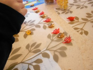 fall math patterning activities