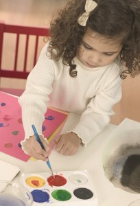 art play activities for young children