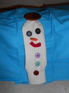 snowman-sock-puppet