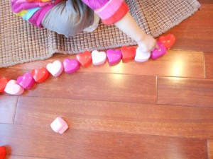 valentine counting learning activity