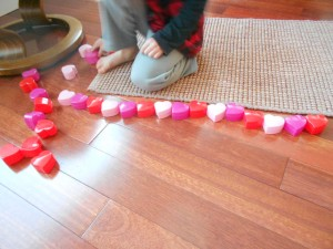 valentine patterning activity
