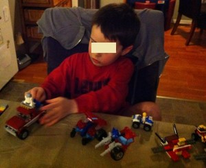 problem-solving with Lego