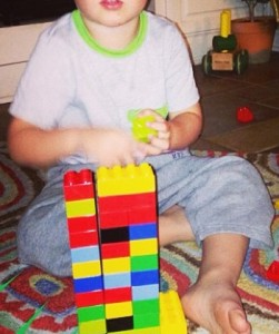 early learning with Lego and Duplo