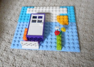 kids' art with Lego