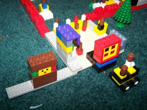 play and learn with Lego