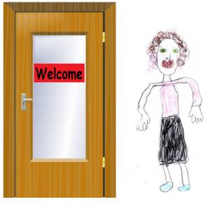 Classroom-door
