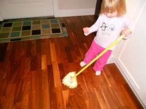 spring cleaning fun for kids