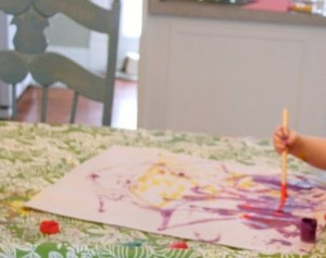 mother's day placemat gift craft