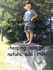 nature and children
