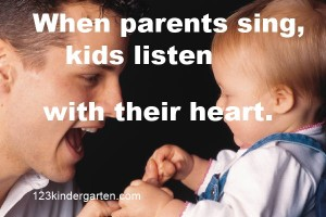 importance of singing to kids