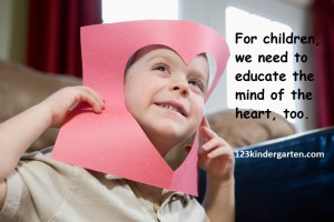 educating hearts and minds of young children