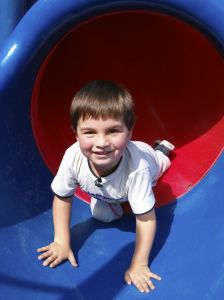 physical play helps learning