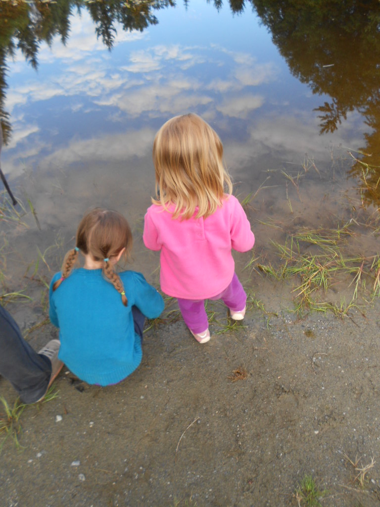 nature helps kids prepare for kinbdergarten