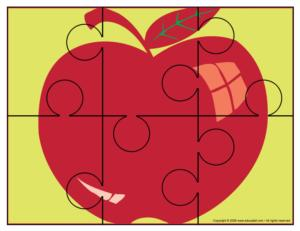 Apple Puzzle Takes A Bite Out Of Learning