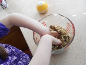 applesauce cookies with kids