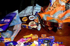 Halloween treats help learn colors