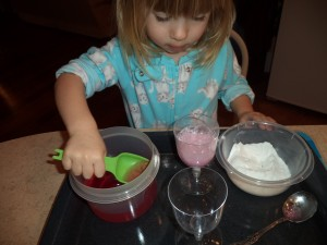 new year's eve baking soda fizz fun