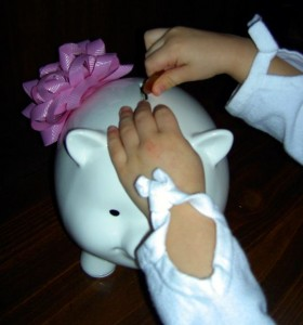 saving money for young children