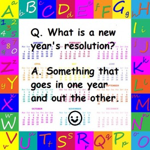 new year's resolution joke
