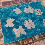 snowflake paint resist activity