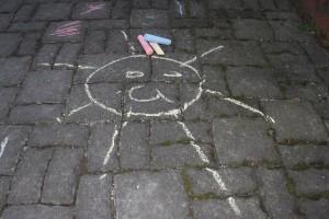 chalk art activities for kids