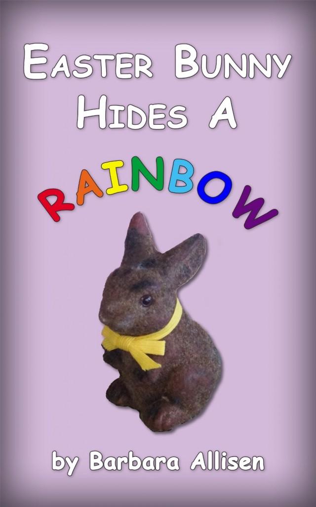 Easter Bunny Hides A Rainbow