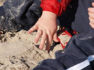 sand and dirt science play