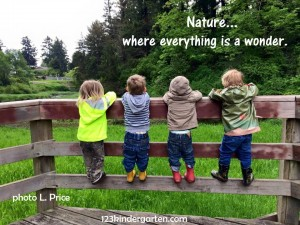 kids go wild for nature