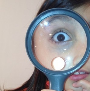 science fun with magnifying glasses