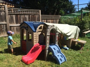 blanket forts outside