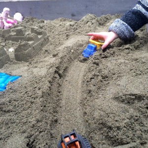 nature and sand play