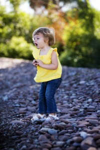 nature play with rocks