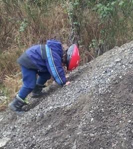 nature play kids dirt piles