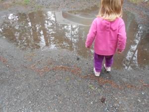 rainy day fun puddle