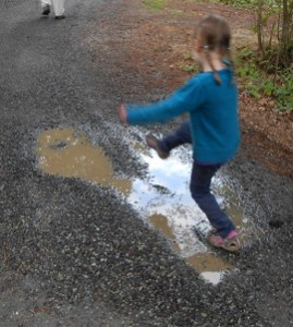 rainy day fun puddle