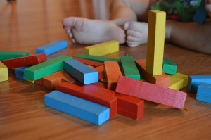 color blocks for math play