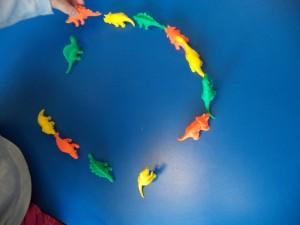 dinosaur patterning skills