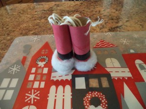 Santa binoculars for Christmas Eve