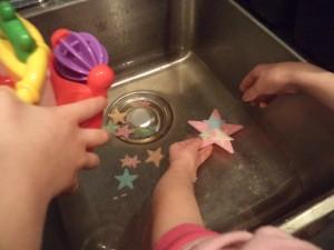 star sensory play