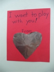 valentine from play